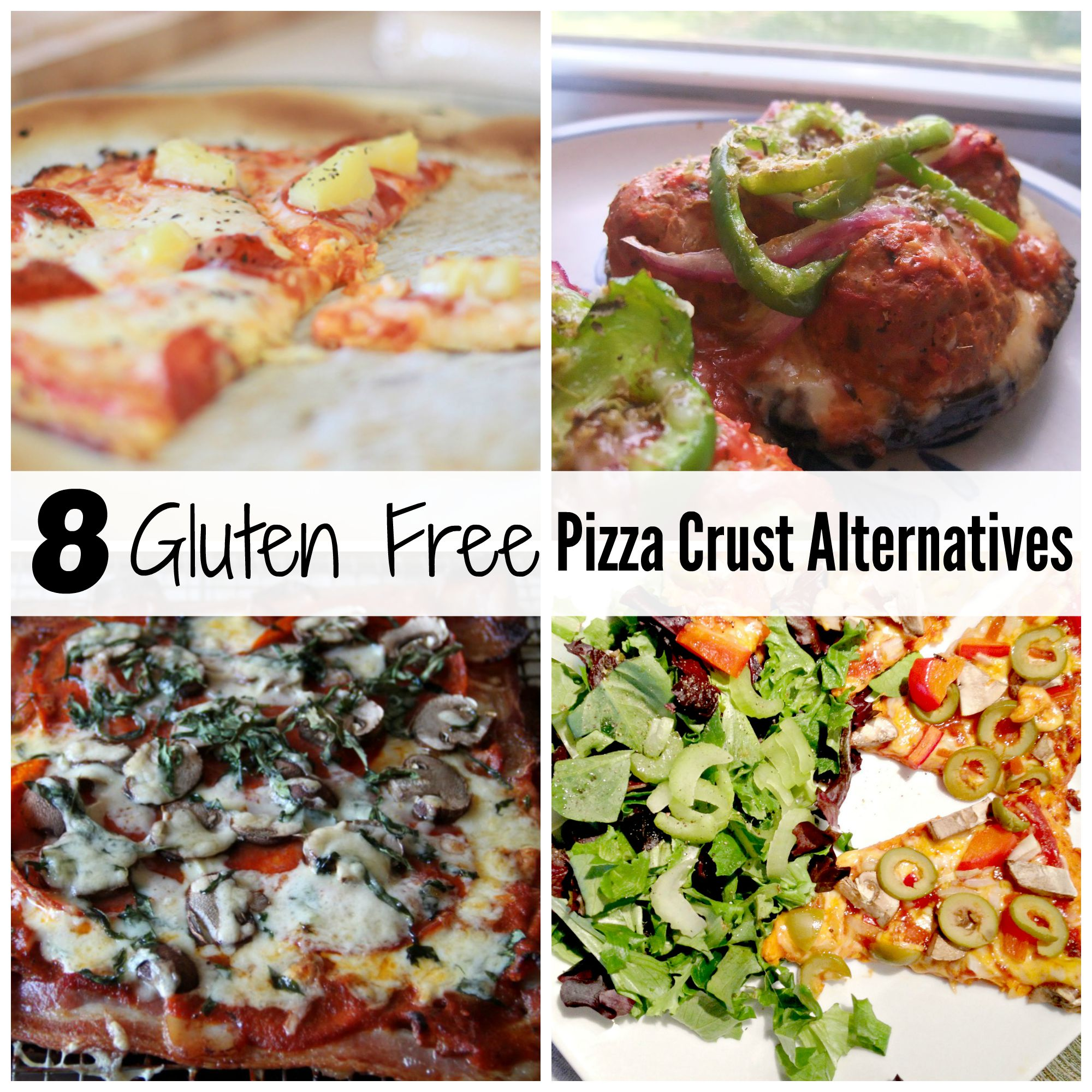 Gluten Free Pizza Crust Alternatives - Creative Sides