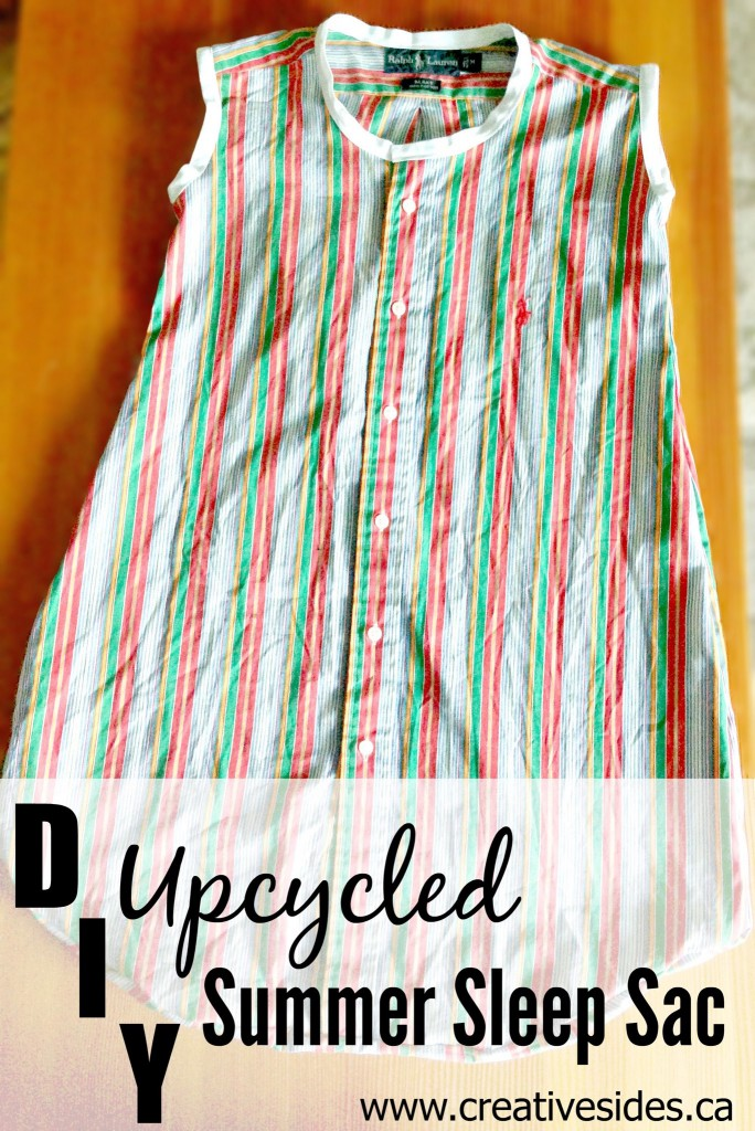 DIY Upcycled Summer Sleep Sac