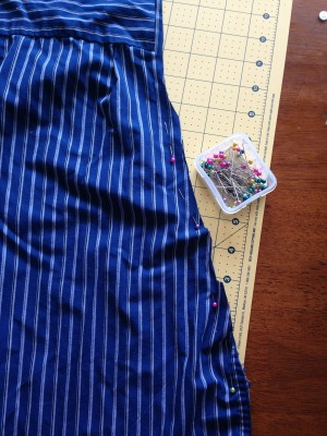 DIY Upcycled Summer Sleep Sac Step 5