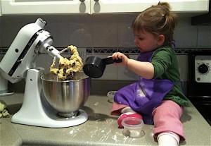 Chocolate Chip Cookies - Making