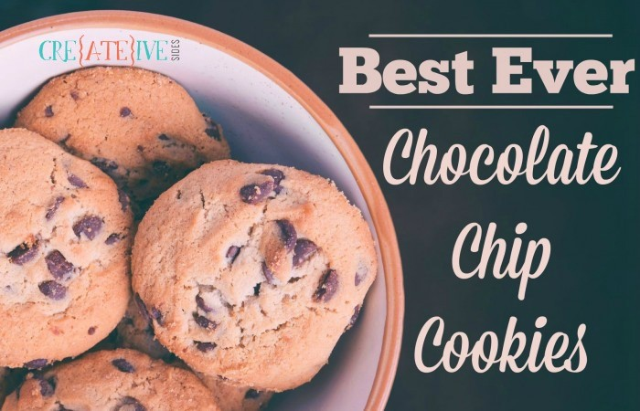 Chocolate Chip Cookies - Title