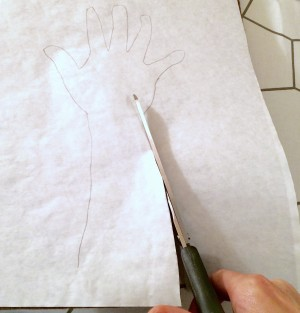 Tree Craft 5 - Cut out Tracing