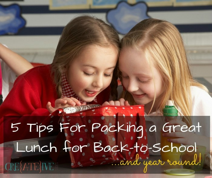 5 Tips for packing a great lunch