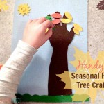 Hand-y Seasonal Felt Tree Craft