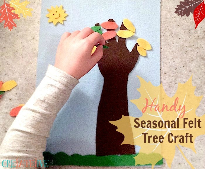 Handy Seasonal Felt Tree Craft