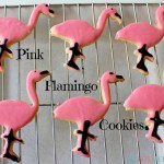 Pink Flamingo Sugar Cookies