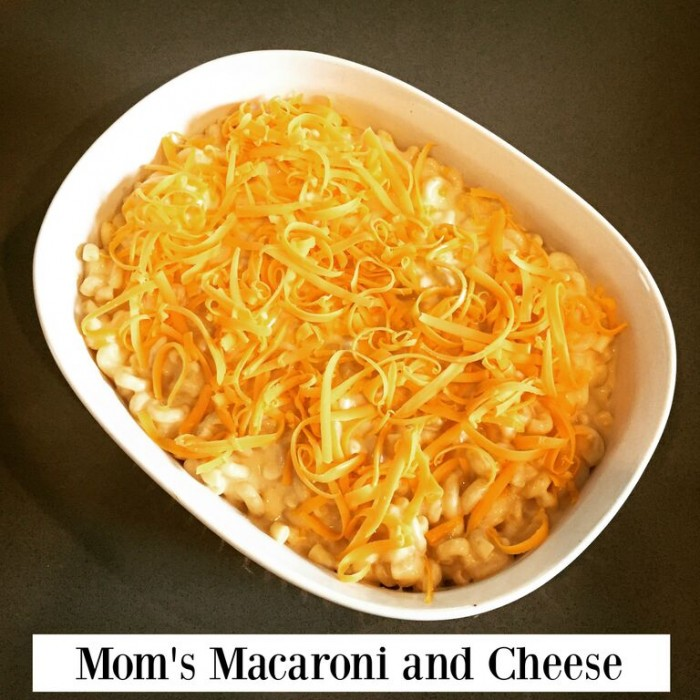 Mom's Macaroni and Cheese Recipe from Hillary with 2 L's