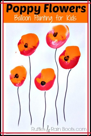 crafts-with-balloons-poppy-flowers-veterans-day-toddler-painting