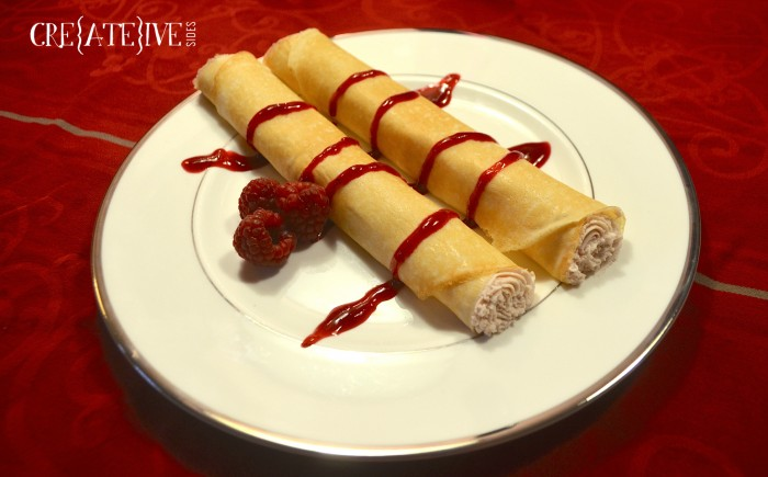 Raspberry Marscapone Crepes - WM