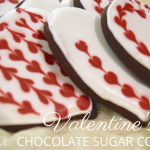 Valentine's Day Chocolate Sugar Cookies