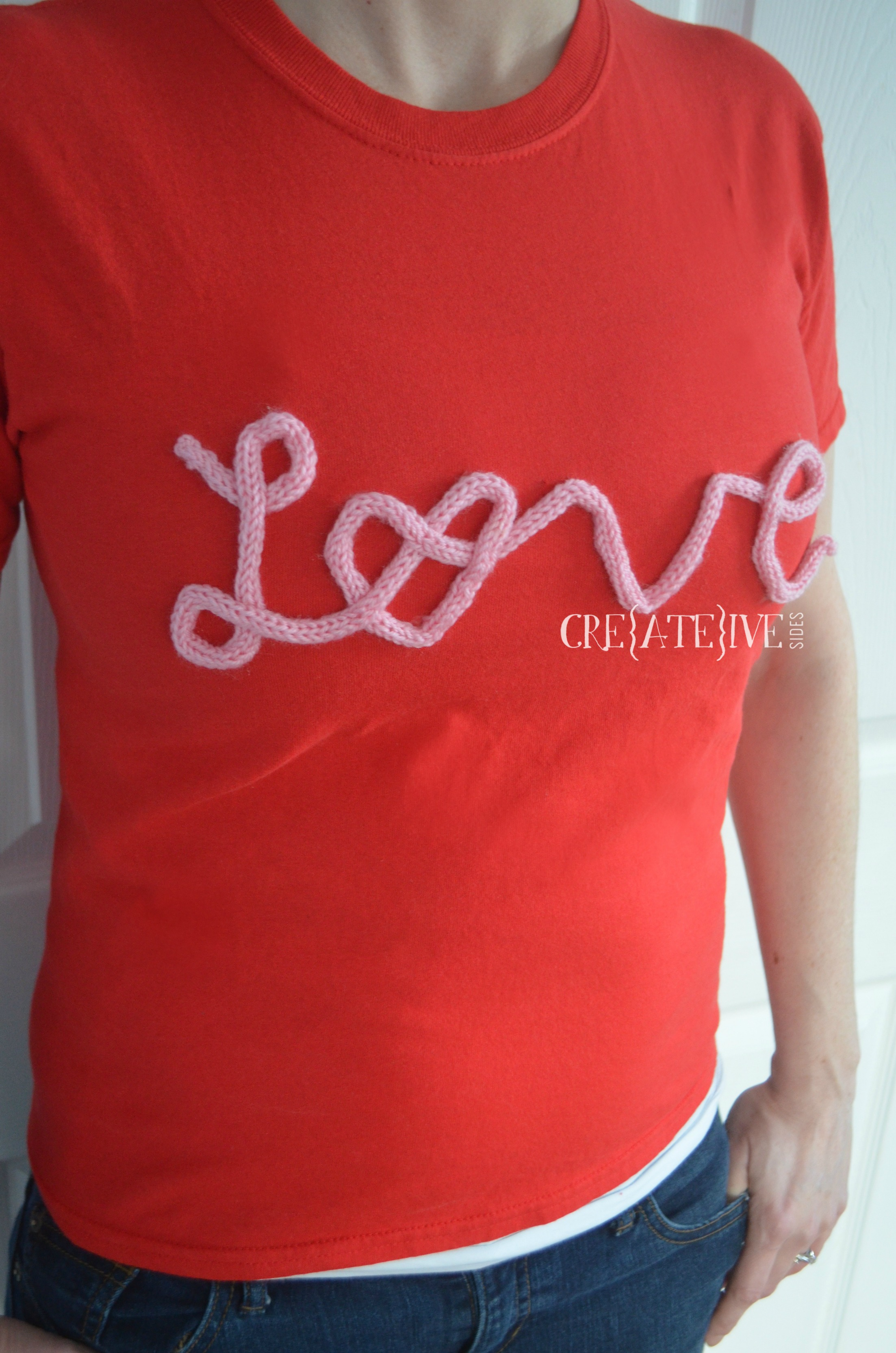 Fashion DIY: Knitted Graphic Tee