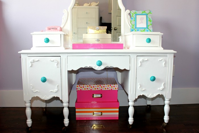 refurbished vanity