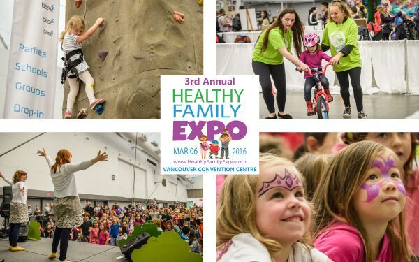 Healthy Family Expo header