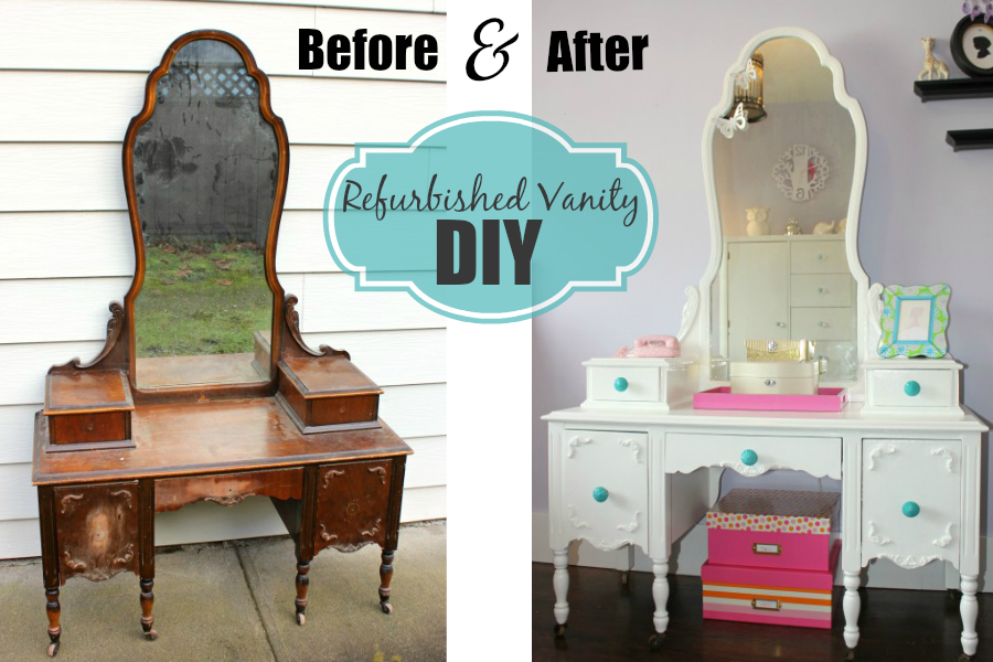Refurbished Vanity DIY