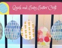 Quick and Easy Easter Egg Craft for Preschoolers