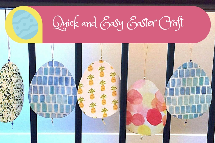 Easter Egg Craft for Preschoolers