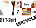 DIY T-Shirt Upcycle