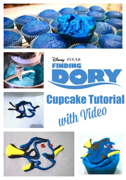Finding Dory Cupcake Pinterest