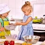 Goodbye Perfectionism - kids in the kitchen