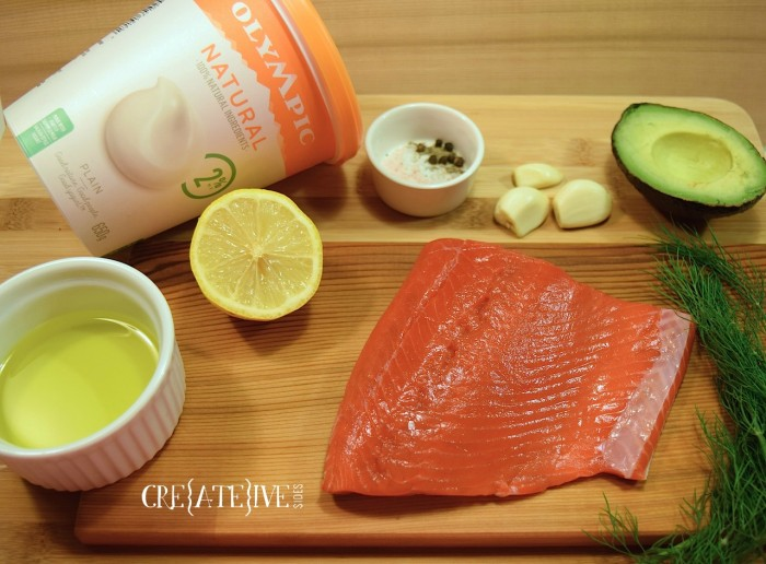 Cedar Plank Salmon Ingredients